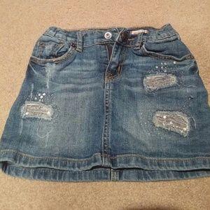 Girls size 6x/7 Jean skort from Children's Place